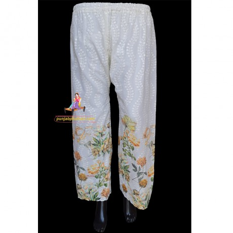 COTTON PRINT PANT PLAZOS